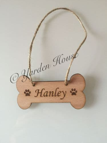 Hanging Dog Bone