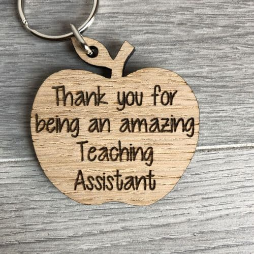 Thank you apple teaching assistant keyring