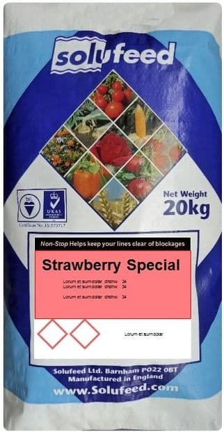 Solufeed Strawberry Special 20 kg