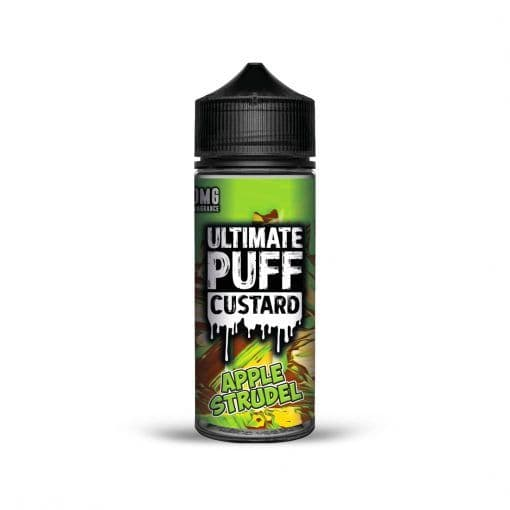 APPLE STRUDEL CUSTARD E-LIQUID BY ULTIMATE PUFF 100ML