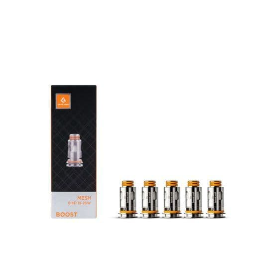 GEEKVAPE MESH BOOST COIL 0.6 OHM – PACK OF 5