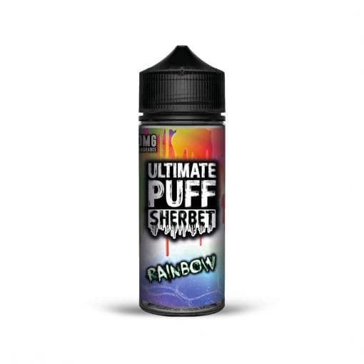 RAINBOW SHERBET E-LIQUID BY ULTIMATE PUFF 100ML