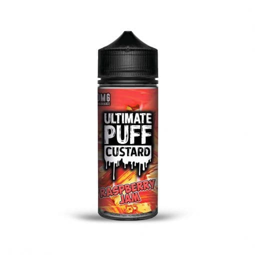 RASPBERRY JAM CUSTARD E-LIQUID BY ULTIMATE PUFF 100ML