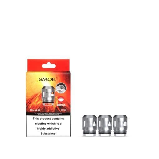 SMOK MINI V2 A2 DUAL COIL 0.2 OHM – PACK OF 3