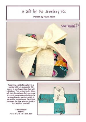A Gift For Me Jewellery Box PDF Pattern