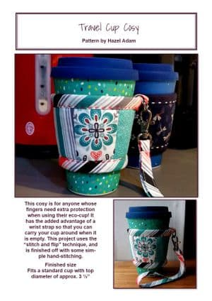 Travel Cup Cosy PDF Pattern