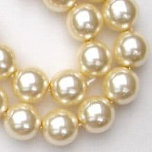 10mm Preciosa Czech Glass Pearls