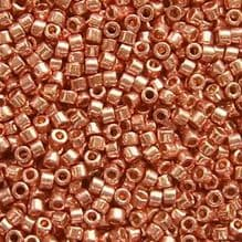 11/0 Delica DB2503 Galvanised Duracoat Bright Copper - 7.2 grams