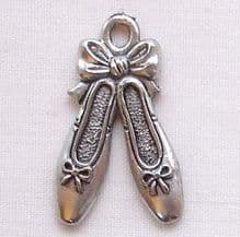 22mm Ballet Shoes Charm - 1