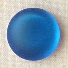 24mm Round Lunasoft Cabochon Blueberry - 1