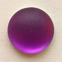 24mm Round Lunasoft Cabochon Grape - 1