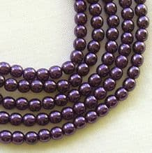 3mm Preciosa Czech Glass Pearls