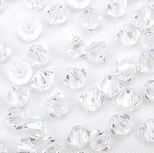 4mm Preciosa Crystal Bicone Crystal - 144
