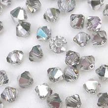 4mm Preciosa Crystal Bicone Vitrail Light - 144