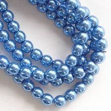 4mm Preciosa Czech Glass Pearls