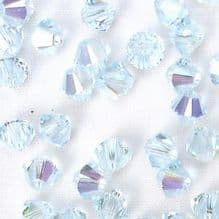 4mm Swarovski 5328 Xilion Light Azore AB 	 - 10