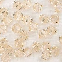 4mm Swarovski 5328 Xilion Silk - 10