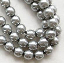 6mm Preciosa Czech Glass Pearls