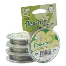 Flexrite 7 Strand .018 - 30ft Clear
