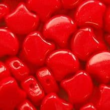 Ginko Beads Opaque Red - 30