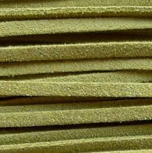 Microfibre Suede Olive Green - 3 ft