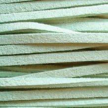 Microfibre Suede Pale Green - 3 ft