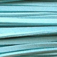 Microfibre Suede Turquoise - 3 ft