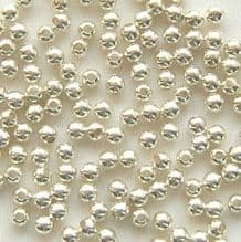 Sterling Silver Beads 2.5mm Round - 10