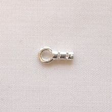 Sterling Silver Ring End Cap - 1