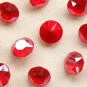 Swarovski 1088 8.3mm Chaton SS39 Crystal Royal Red - 6