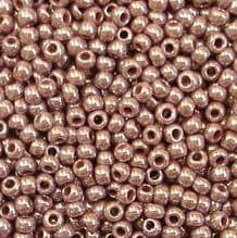 Toho 11/0 Seed Beads Opaque Lustred Lavender 133 - 10 grams