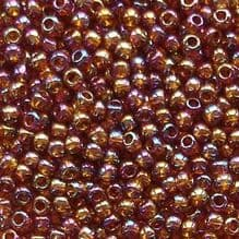 Toho 11/0 Seed Beads, Rainbow Smoky Topaz 177 - 10 grams
