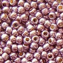 Toho 8/0 Seed Beads Permanent Finish Galvanised Pale Lilac PF579 - 10 grams