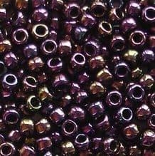 Toho 8/0 Seed Beads Purple Iris 85 - 10 grams
