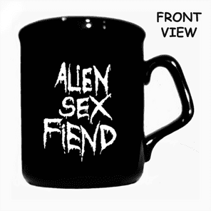 Alien Sex Fiend Logo Mug (double sided) for Coffee and Tea from Blue Crumb Truck